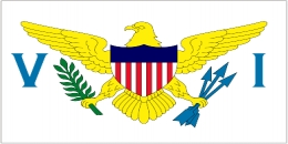 The U.S. Virgin Islands Flag
